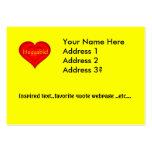 Huggable Love Business Card Templates