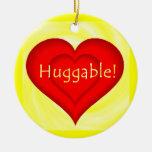 Huggable Love Christmas Ornaments