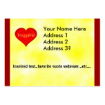 Huggable Love Large Business Cards (Pack Of 100)