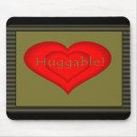Huggable Love Mouse Pad