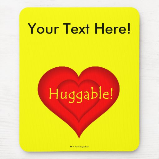 Huggable! Mouse Pads