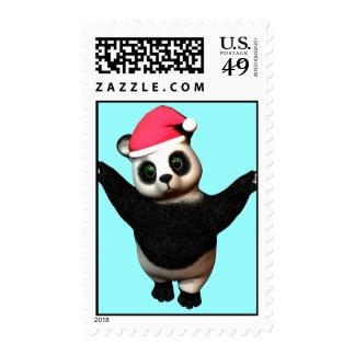 Huggable Panda Bear! Postage Stamp