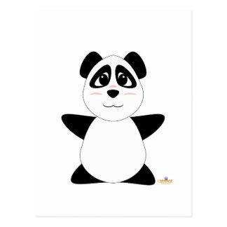 Huggable Panda Bear Postcard