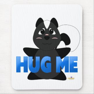Huggable Skunk Blue Hug Me Mouse Pad