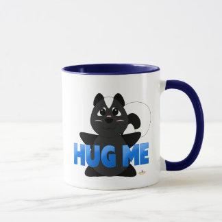 Huggable Skunk Blue Hug Me Mug