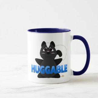 Huggable Skunk Blue Huggable Mug