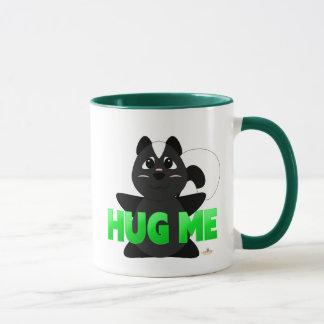 Huggable Skunk Green Hug Me Mug