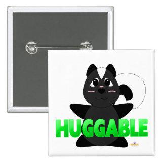 Huggable Skunk Green Huggable Pins