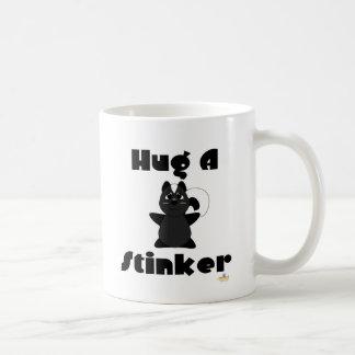 Huggable Skunk Hug A Stinker Coffee Mug