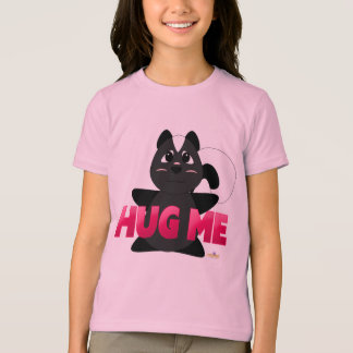 Huggable Skunk Pink Hug Me T-Shirt