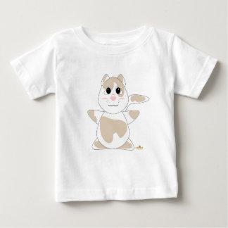 Huggable Tan Cat Baby T-Shirt