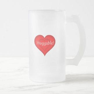 ¡Huggable! Taza De Cristal