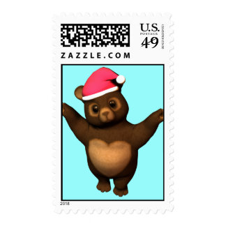 Huggable Teddy Bear Love! Postage Stamps