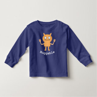 Huggable - Toddler Long Sleeve T-Shirt Toddler T-shirt