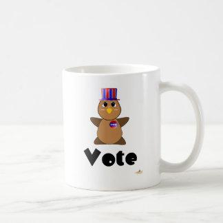 Huggable Voting Brown Owl Vote Mugs