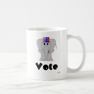Huggable Voting Elephant Vote Mug