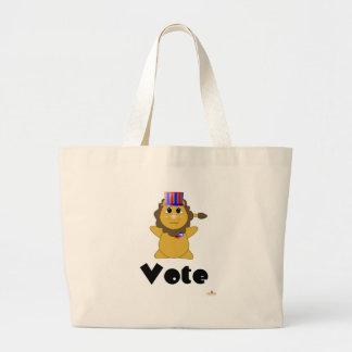 Huggable Voting Lion Vote Bag