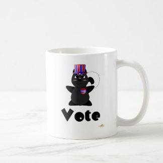Huggable Voting Skunk Vote Coffee Mug