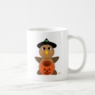 Huggable Witch Brown Owl Coffee Mug