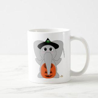 Huggable Witch Elephant Coffee Mug