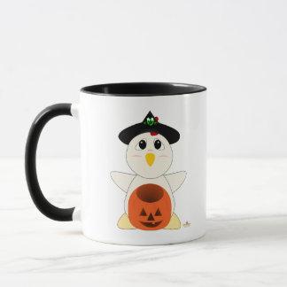Huggable Witch White Chicken Mug