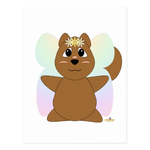 HuggableFlowerFairySquirrel Postal