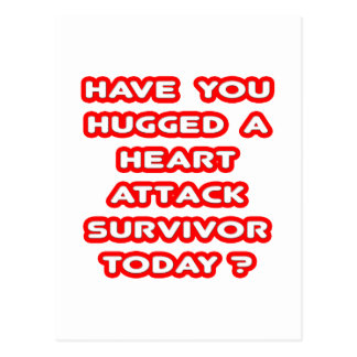 Hugged a Heart Attack Survivor Today? Post Cards