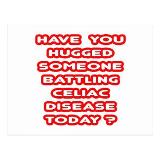 Hugged Someone Battling Celiac Disease? Postcard
