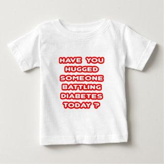 Hugged Someone Battling Diabetes Today? Baby T-Shirt