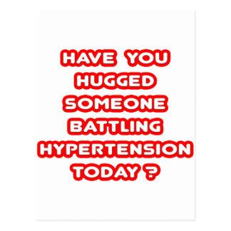 Hugged Someone Battling Hypertension Today? Postcard