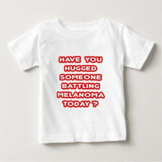Hugged Someone Battling Melanoma Today? Baby T-Shirt
