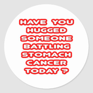 Hugged Someone Battling Stomach Cancer? Sticker