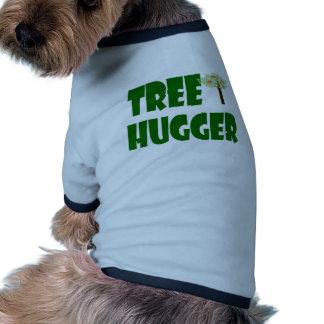 hugger del árbol camisa de perrito