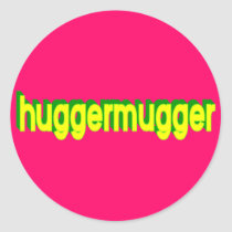 Huggermugger Sticker