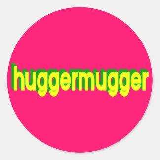 Huggermugger Sticker