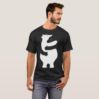 "Huggers ""White Print"" T-Shirt"