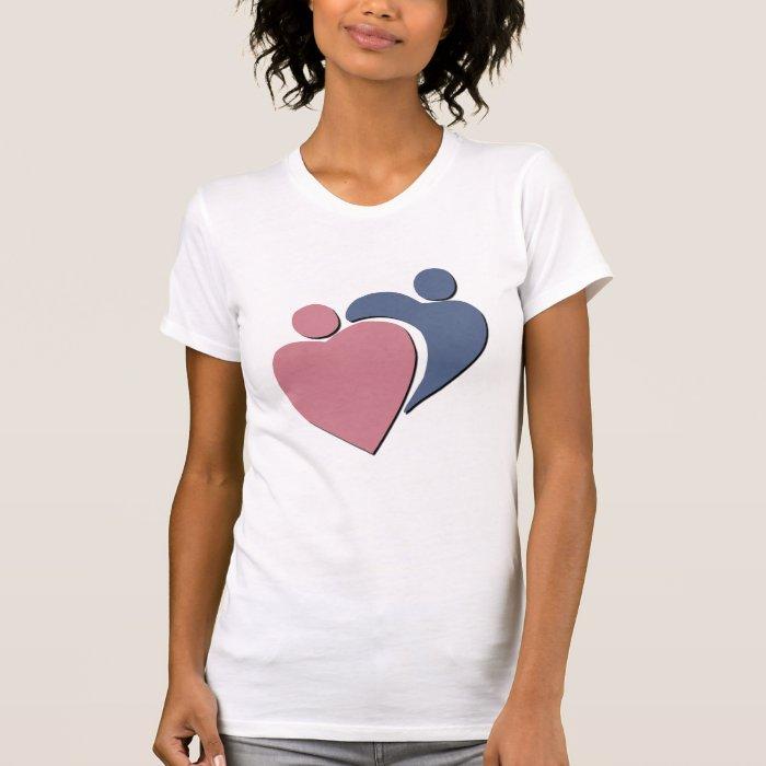 Hugging Hearts t-shirt