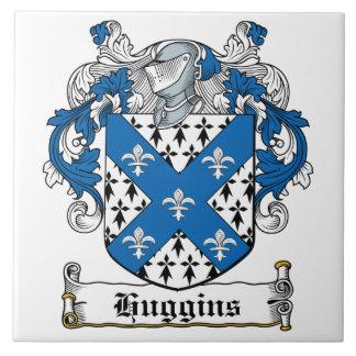 Huggins Family Crest Tile