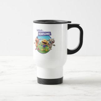 Huggleball is Roarsome! Travel Mug