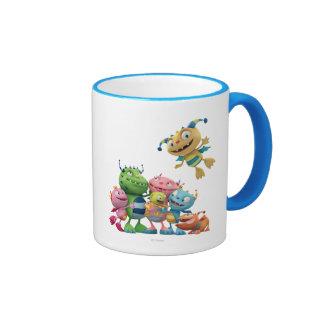 Hugglemonster Family Ringer Mug