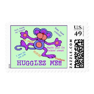 Hugglez Me Monkey Postage