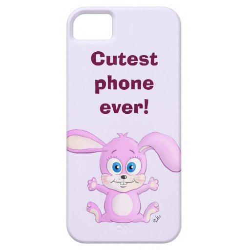 Huggy Bunny - Cutest Phone Ever iPhone 5 Case