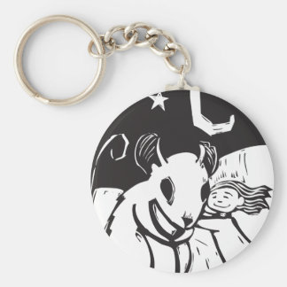 Huggy Mouse Keychain