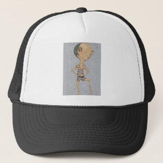 Hugh champion swimmer trucker hat