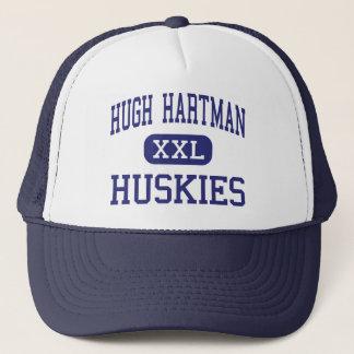 Hugh Hartman Huskies Middle Redmond Oregon Trucker Hat