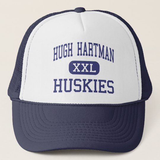 Hugh Hartman Huskies Middle Redmond Oregon Trucker Hat