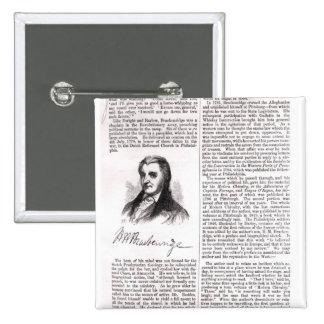 Hugh Henry Brackenridge Button