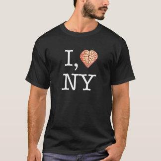 Hugh Howey I, camisa del zombi NY