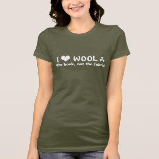 Hugh Howey I Heart WOOL (the book) Shirt