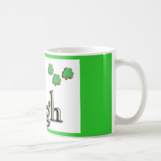 Hugh Irish Classic White Coffee Mug